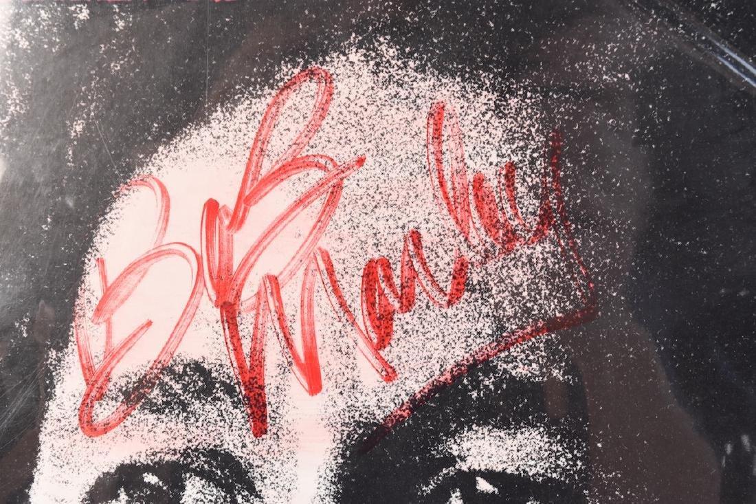 Autographed Bob Marley Album w/ (2) Records - 6