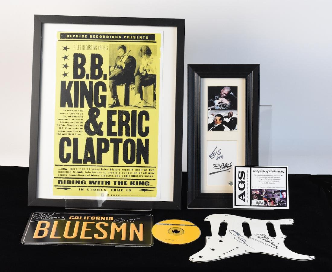 BB King & Eric Clapton Signed Collection