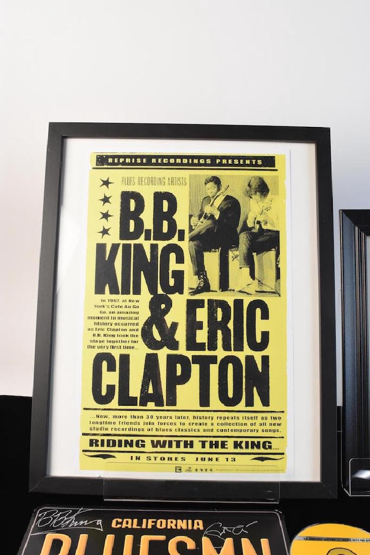 BB King & Eric Clapton Signed Collection - 4