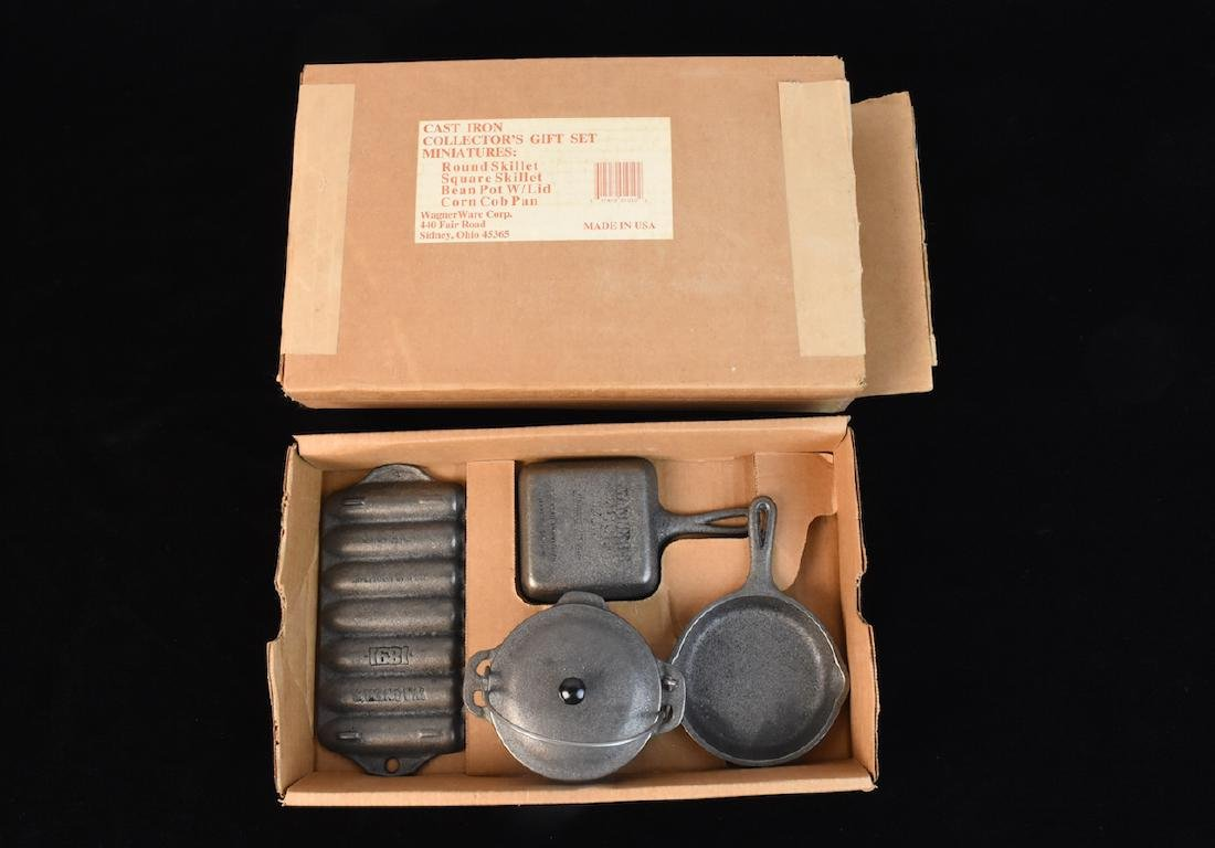 Wagner Ware Cast Iron Set of Miniatures