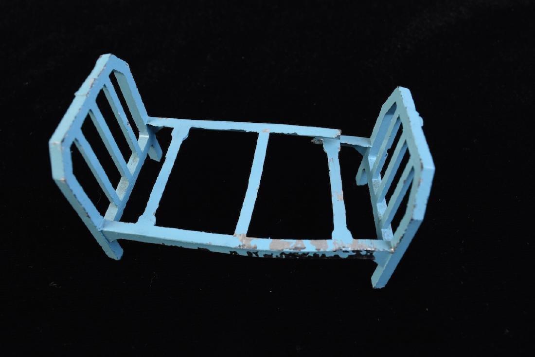 Miniature Tootsie Toy Cast Iron Doll Furniture - 4