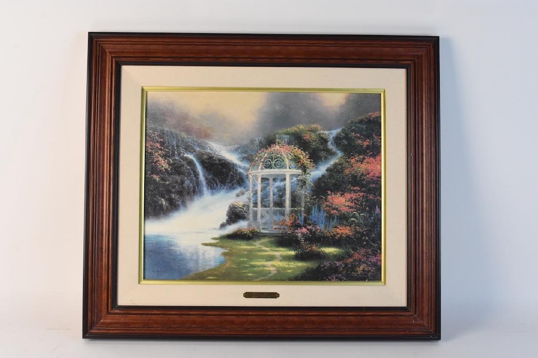 """Thomas Kinkade """"Secret Garden Places II"""" LE"""