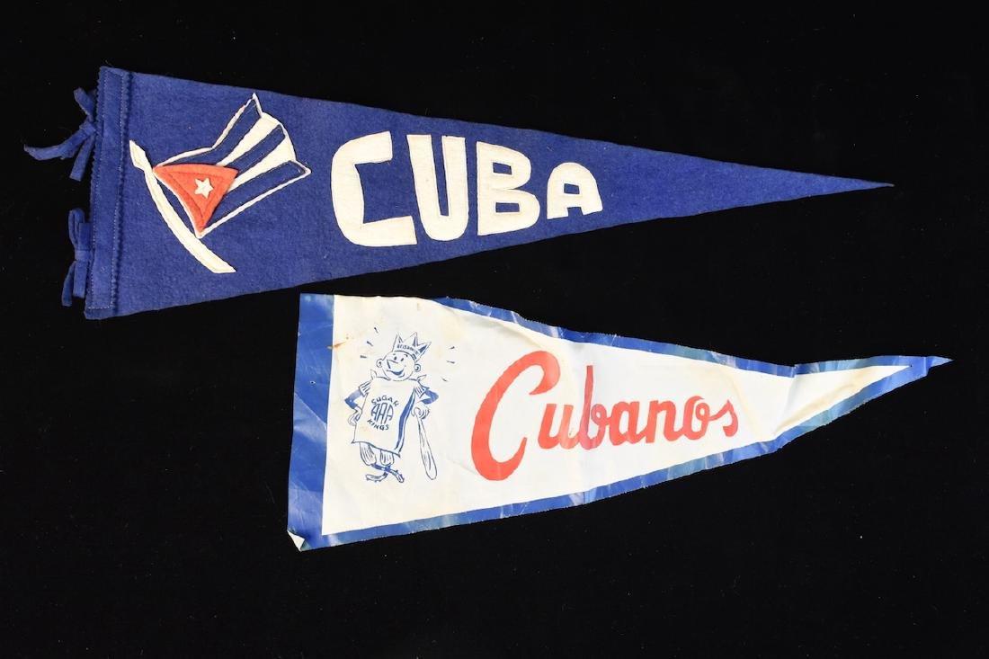 1940/1950's Havana Sugar Kings Baseball Pennant