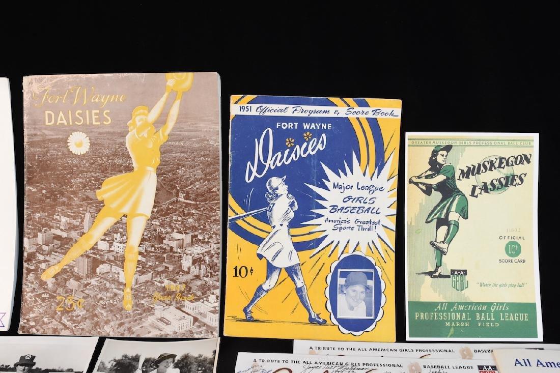 Fort Wayne Daisies & AAGPBL Memorabilia - 2