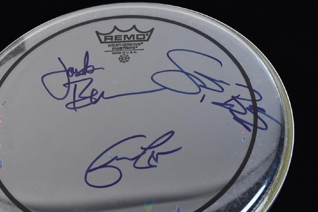 Cream Autographed Photo & Drum Head + Styx & Bonamassa - 8