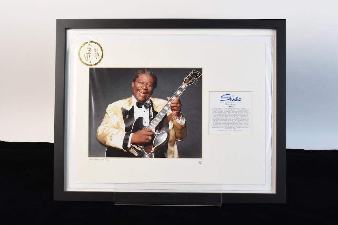 LE Studio Photo of B.B. King