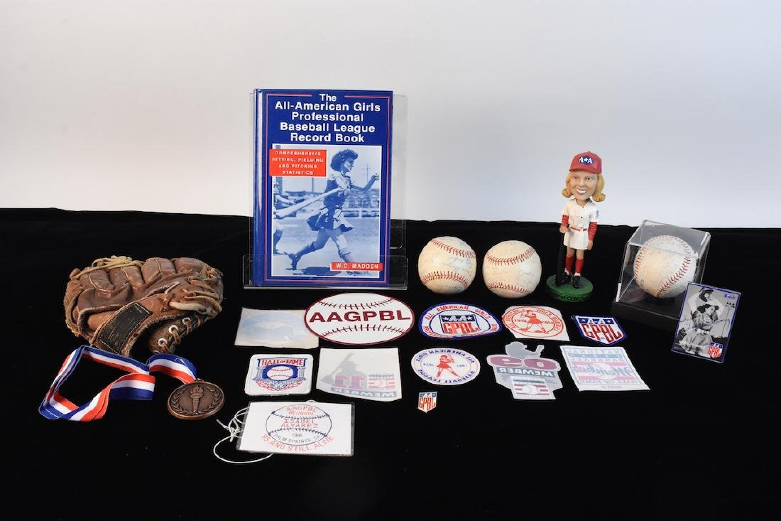 Memorabilia of AAGPBL from Isabel Alvarez