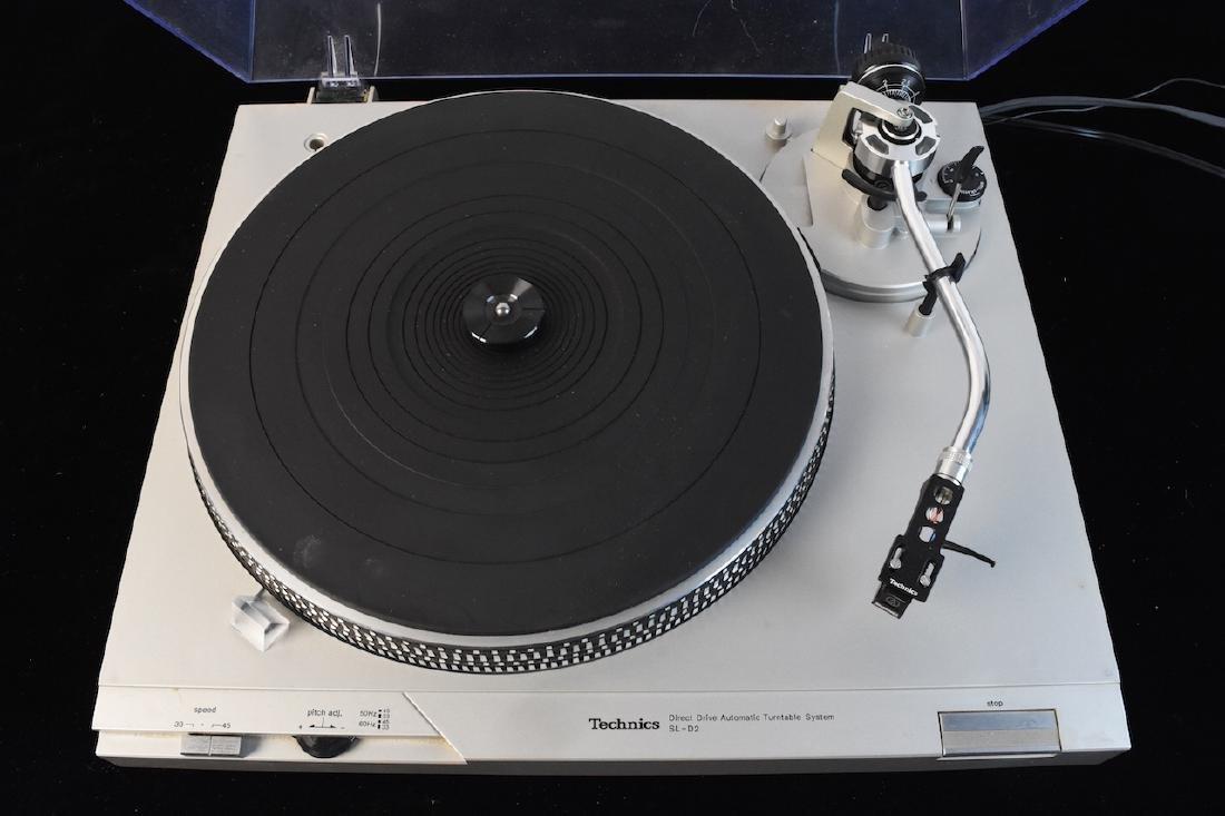 Technics Record/Vinyl Player Model SL-D2 - 2
