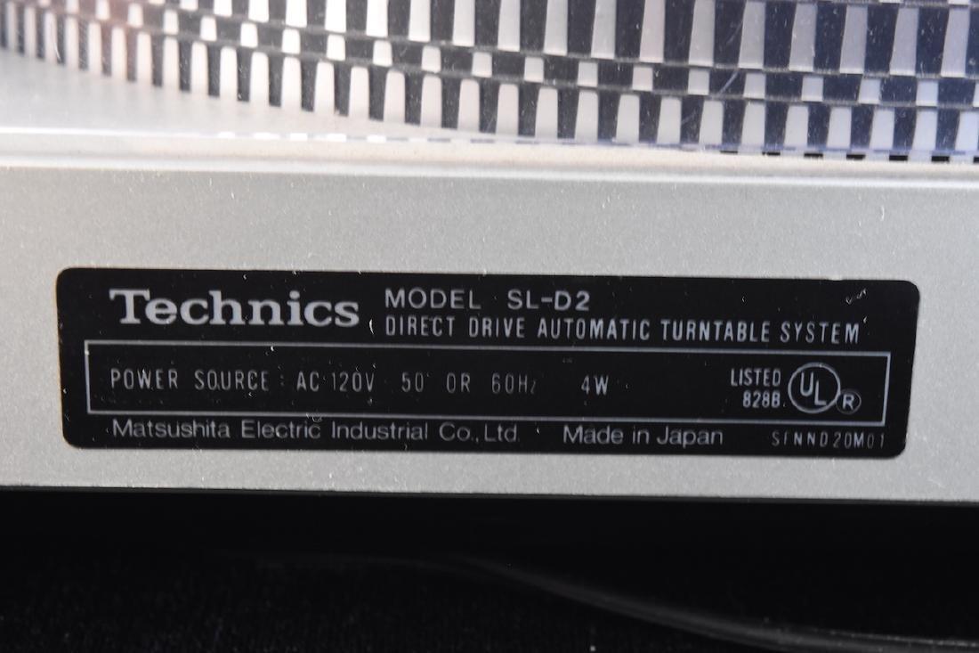 Technics Record/Vinyl Player Model SL-D2 - 6