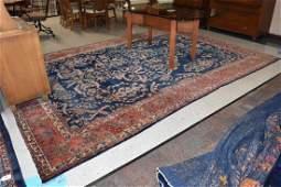 """1910's Persian Sarouk Area Rug 12' 7"""" x 8' 9"""""""