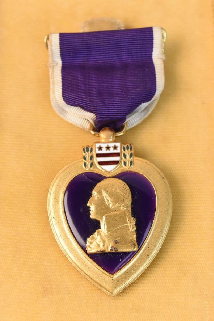 Unnamed Military Purple Heart Decoration