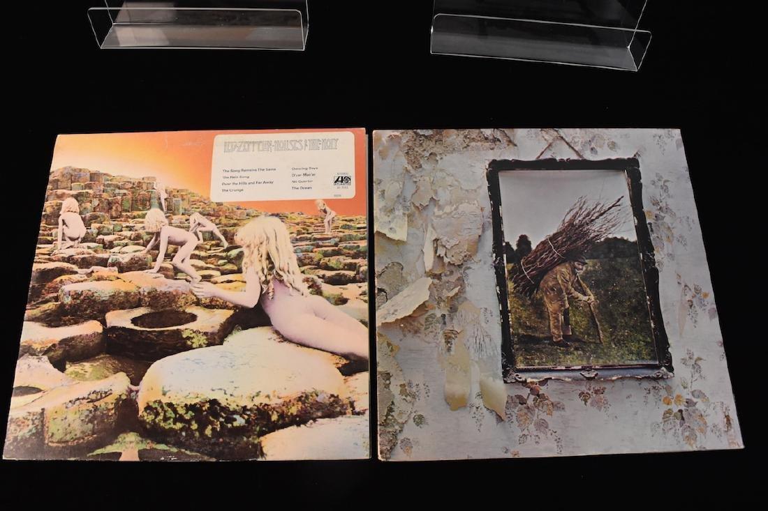 Vinyl; Zeppelin, Doors, Deep Purple, Hendrix - 10