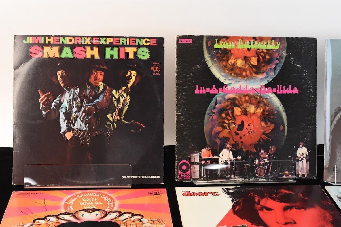 Vinyl; Zeppelin, Doors, Deep Purple, Hendrix - 2