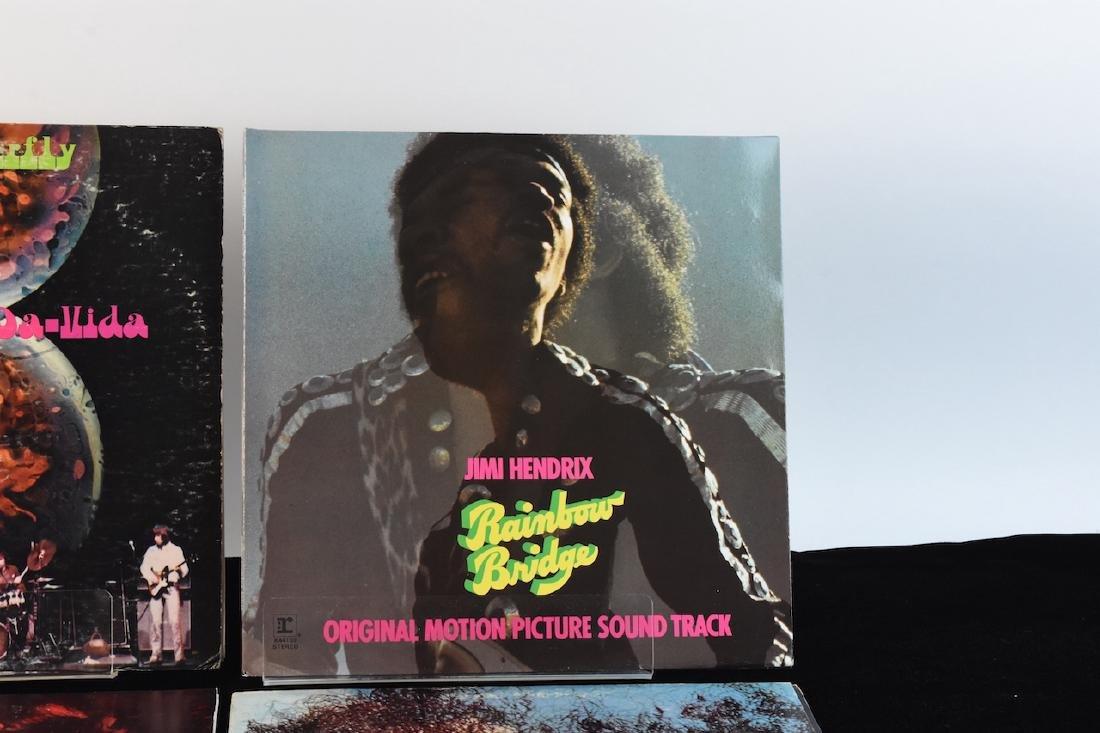 Vinyl; Zeppelin, Doors, Deep Purple, Hendrix - 3