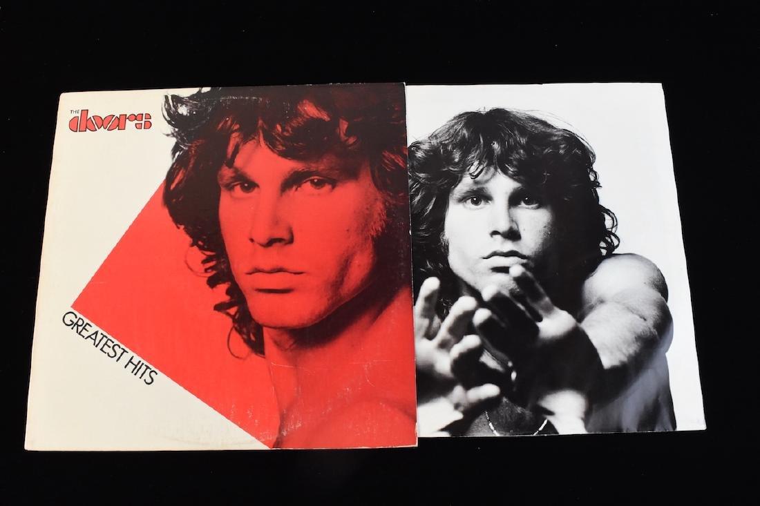 Vinyl; Zeppelin, Doors, Deep Purple, Hendrix - 4
