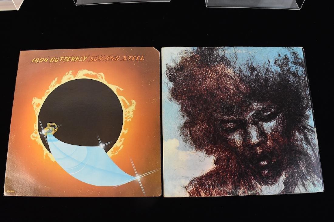 Vinyl; Zeppelin, Doors, Deep Purple, Hendrix - 7