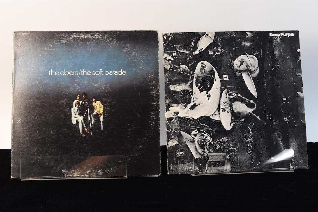 Vinyl; Zeppelin, Doors, Deep Purple, Hendrix - 8