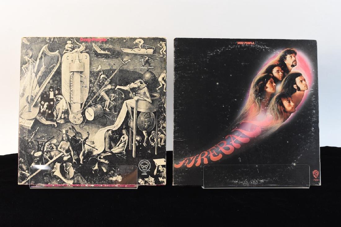 Vinyl; Zeppelin, Doors, Deep Purple, Hendrix - 9