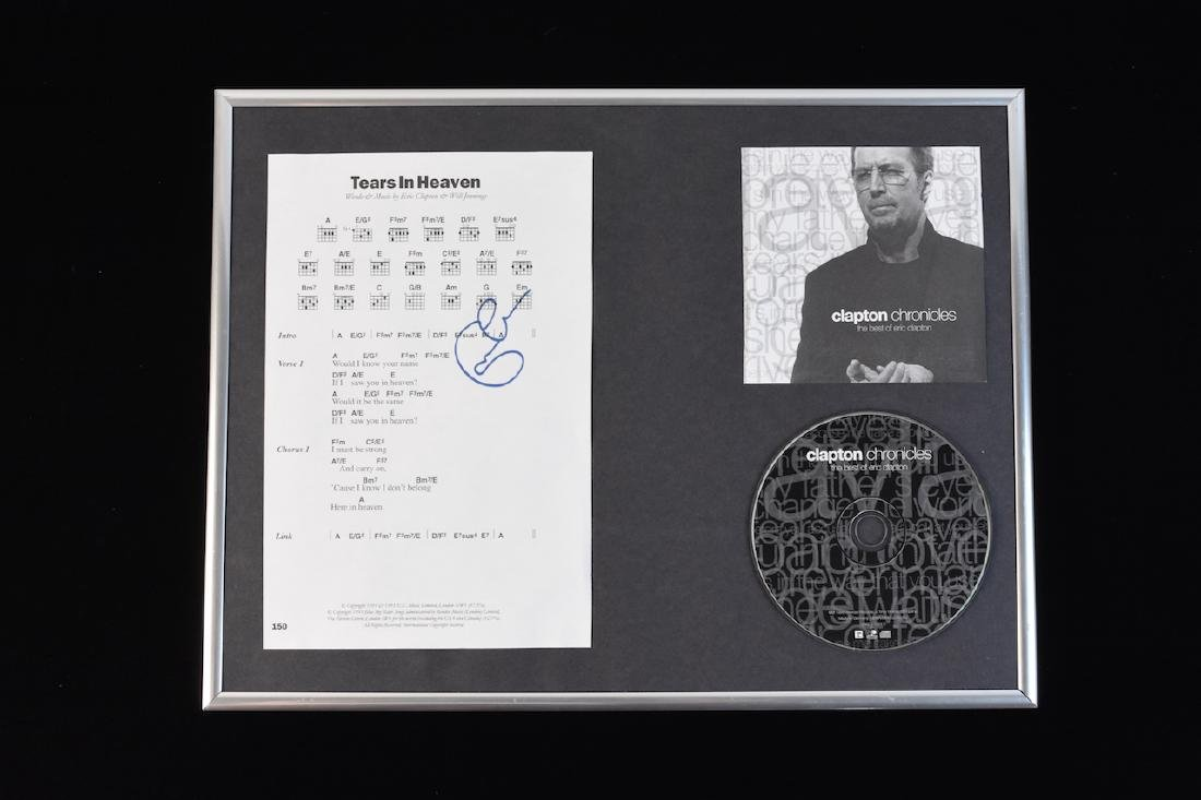 Eric Clapton Signed Pictures & Sheet Music - 6