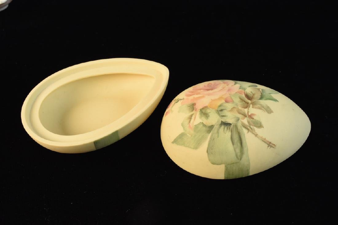 (20) Pieces Vanity Porcelain Signed by M. Lienhart - 5