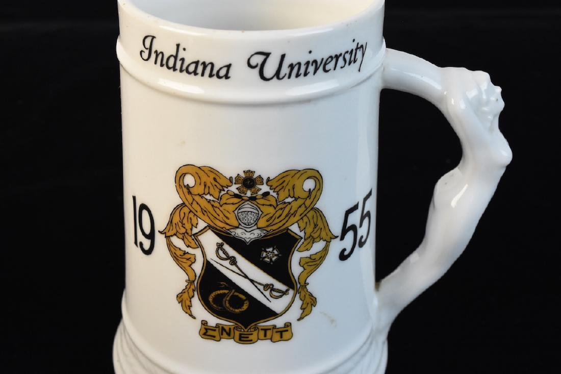 Indiana University Steins & Football Shaped Music Box - 4