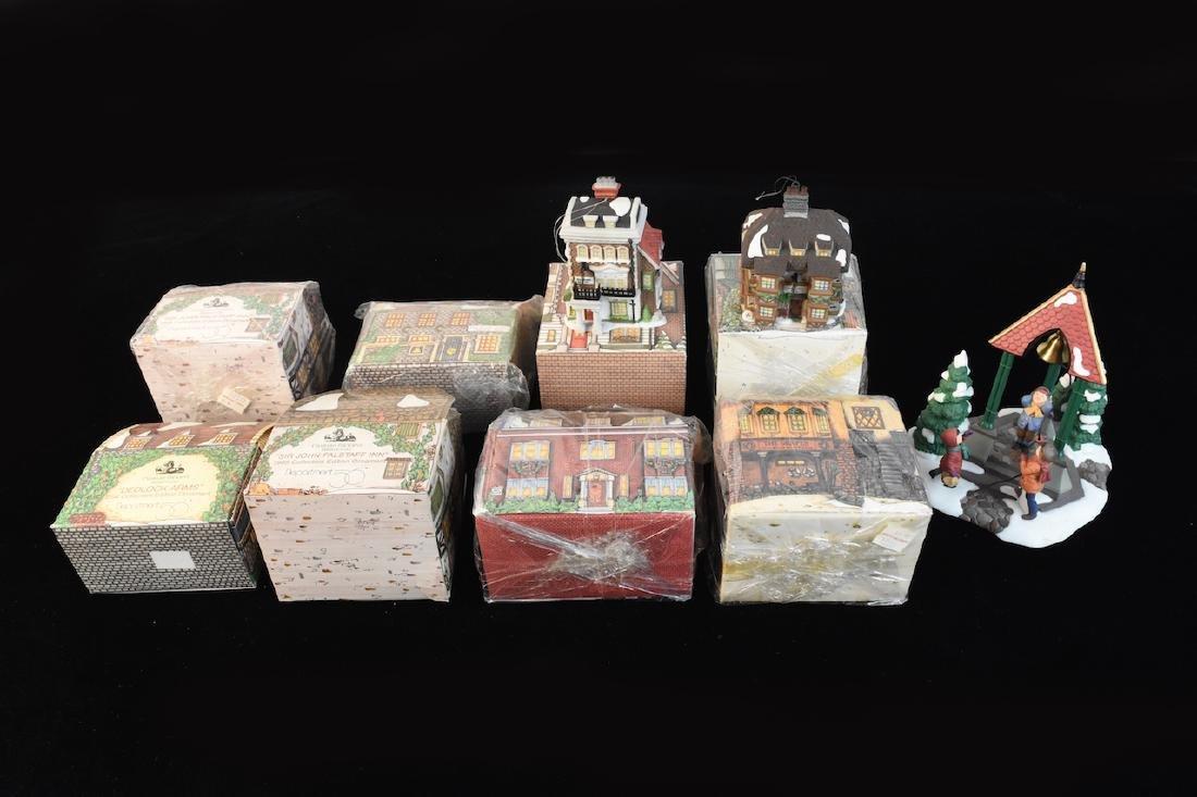 (8) Charles Dickens Dept 56 Collectors Ornaments