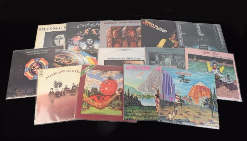 (14) Assorted Records on Vinyl from the 70's