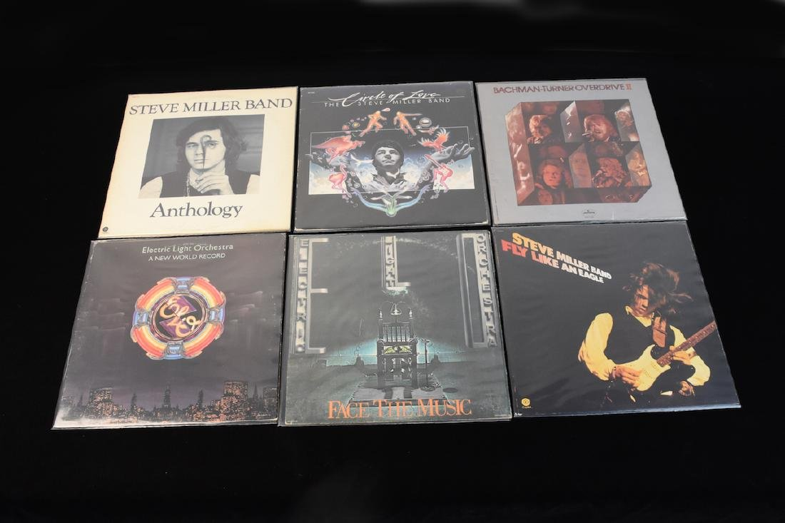 (14) Assorted Records on Vinyl from the 70's - 2