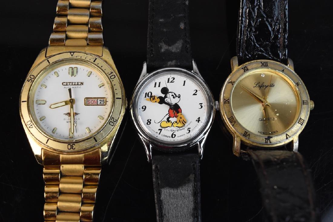(9) Assorted Watches; Rolex, Citizen, Elgin - 4