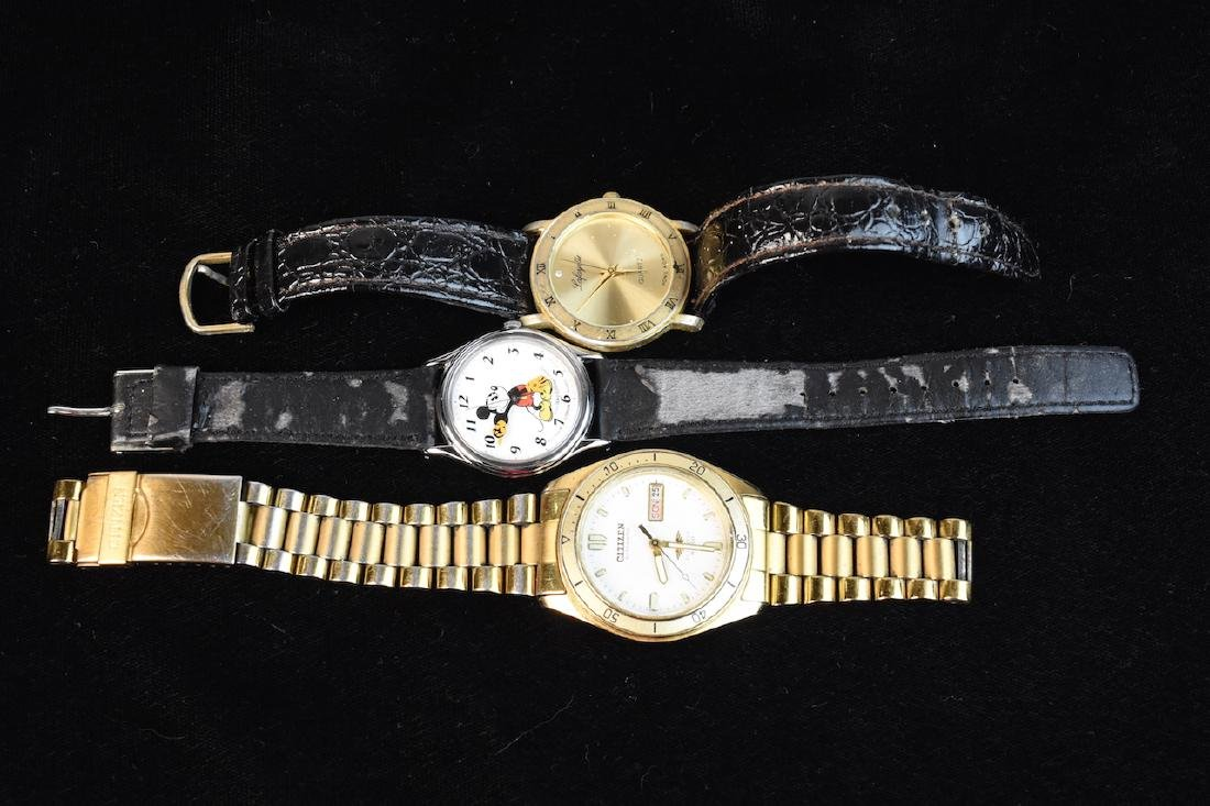 (9) Assorted Watches; Rolex, Citizen, Elgin - 5