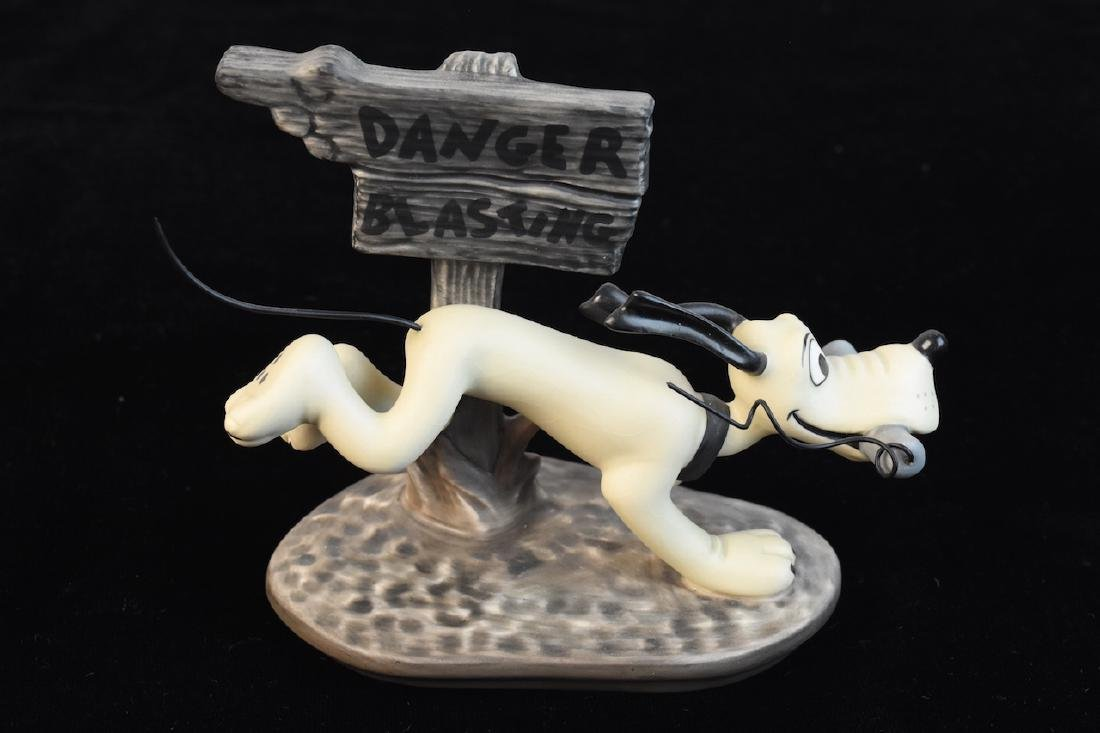 "Classic Walt Disney Collection ""Dynamite Dog"" Figurine"