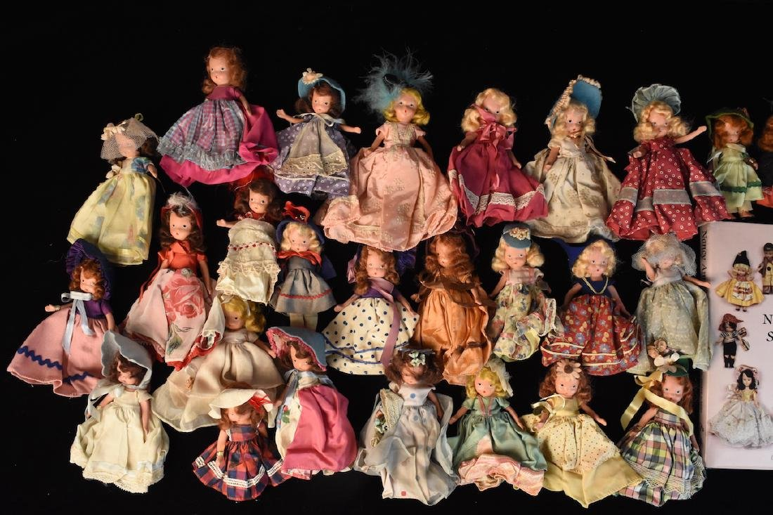 (30) Nancy Ann Storybook Dolls w/ Book - 2