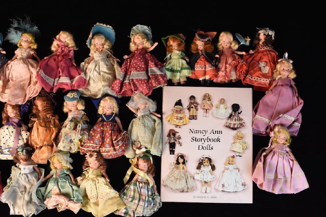 (30) Nancy Ann Storybook Dolls w/ Book - 3