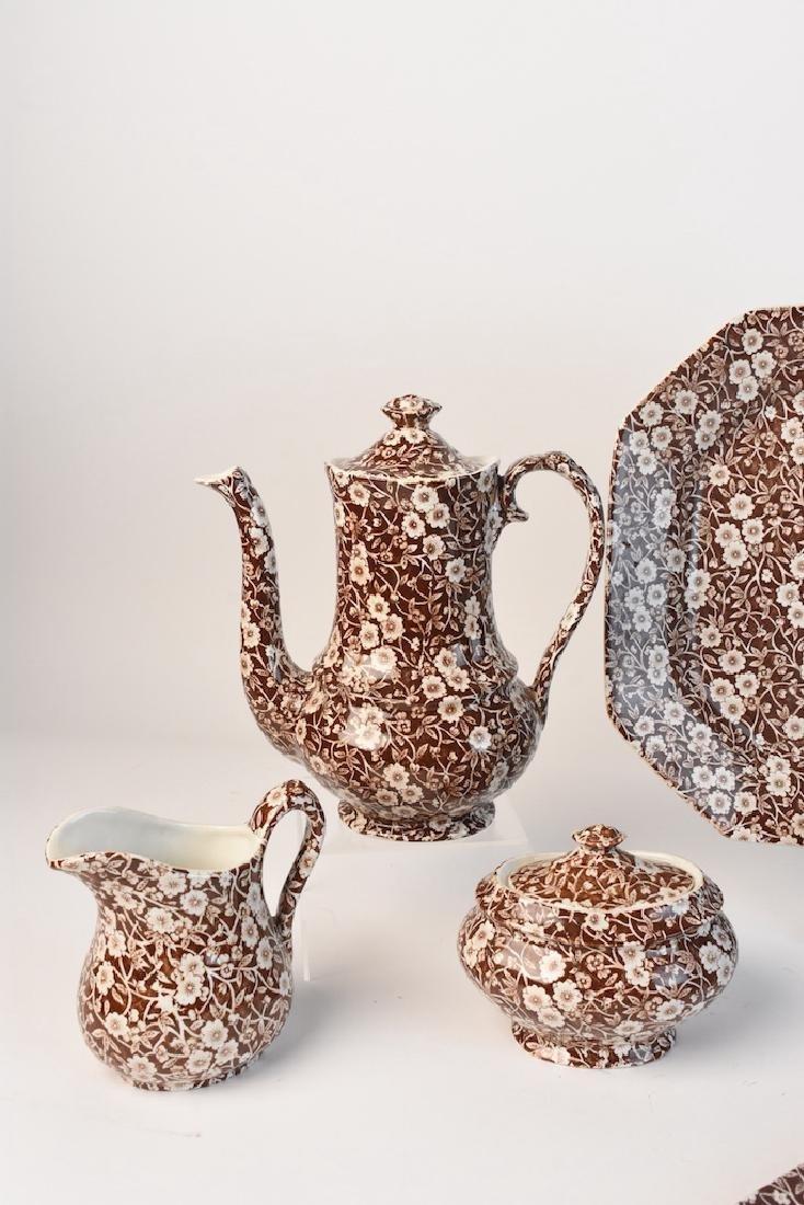 Royal Crownford Calico Dish Set; England - 3