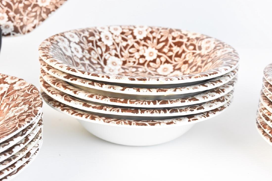 Royal Crownford Calico Dish Set; England - 7