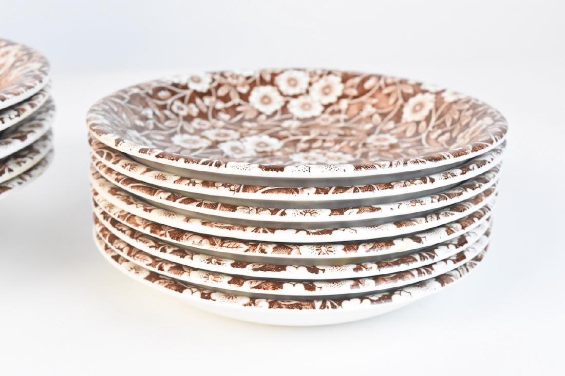 Royal Crownford Calico Dish Set; England - 8