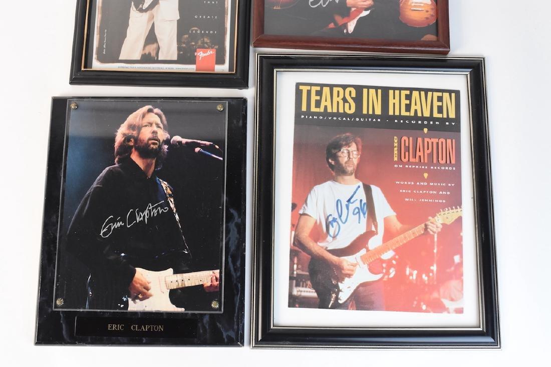 Collection of Eric Clapton signed Memorabilia - 4