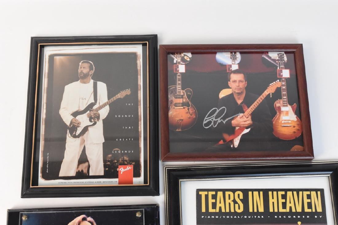Collection of Eric Clapton signed Memorabilia - 5