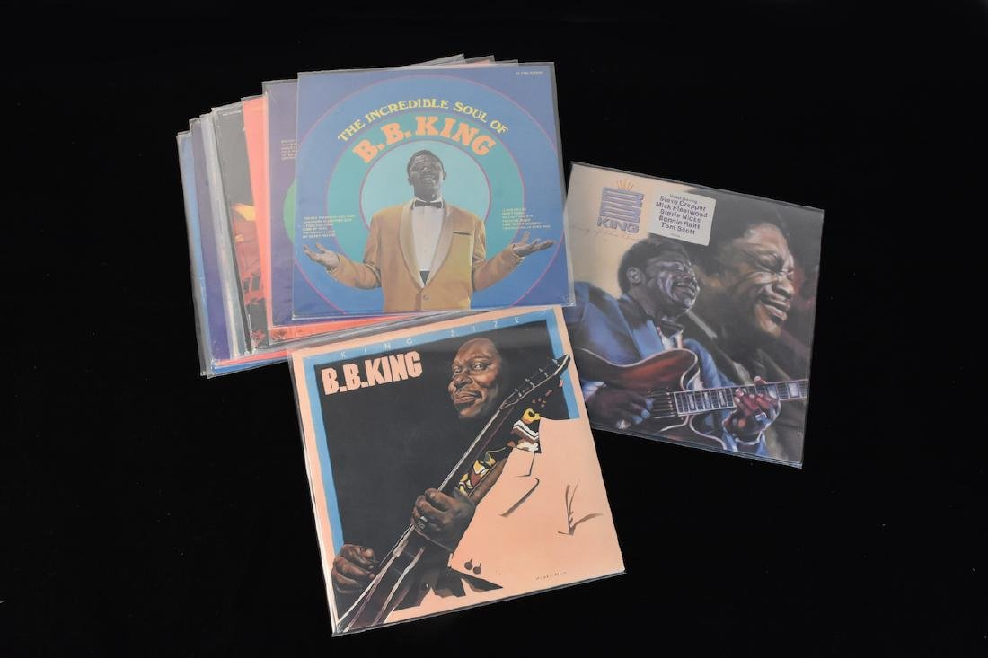 (13) B.B. King Albums on Vinyl Factory Sealed