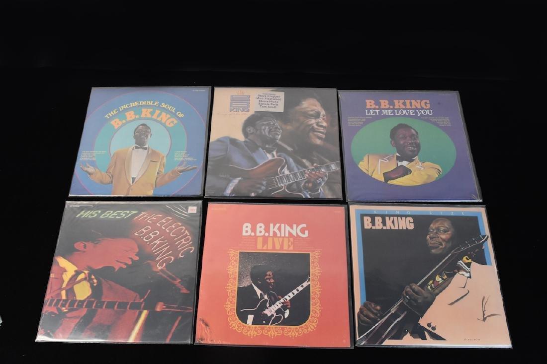 (13) B.B. King Albums on Vinyl Factory Sealed - 3