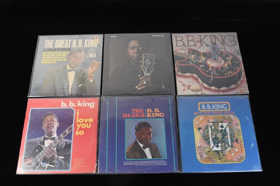 (13) B.B. King Albums on Vinyl Factory Sealed - 4