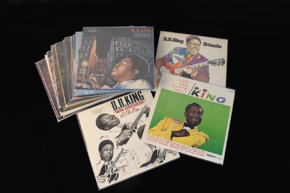 (20) B.B. King Albums on Vinyl