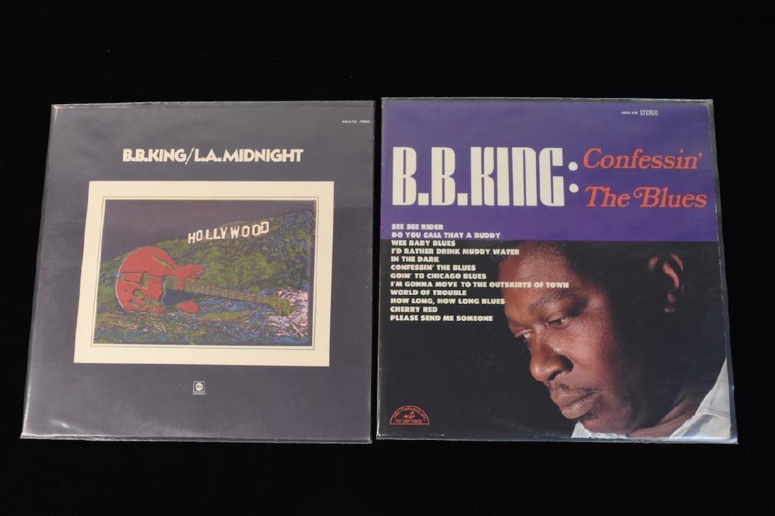 (20) B.B. King Albums on Vinyl - 2