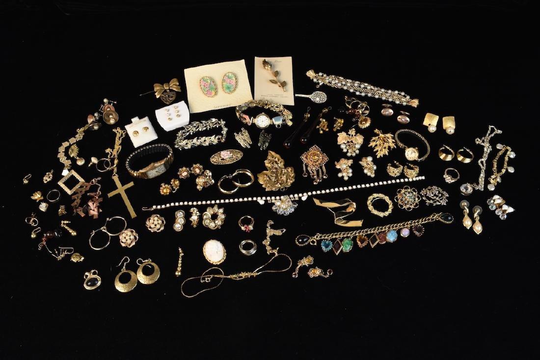 Costume Jewelry; Monet, Sorrento, Bulova, Judy Lee +