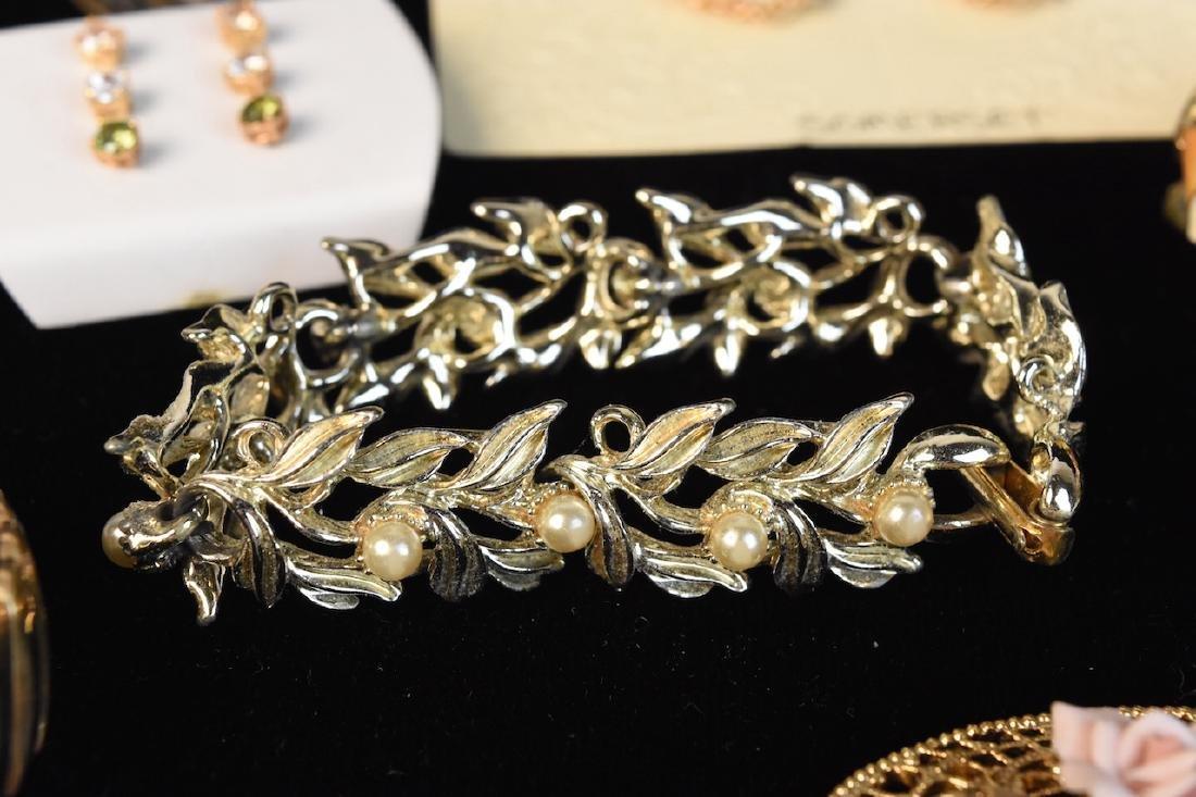 Costume Jewelry; Monet, Sorrento, Bulova, Judy Lee + - 2