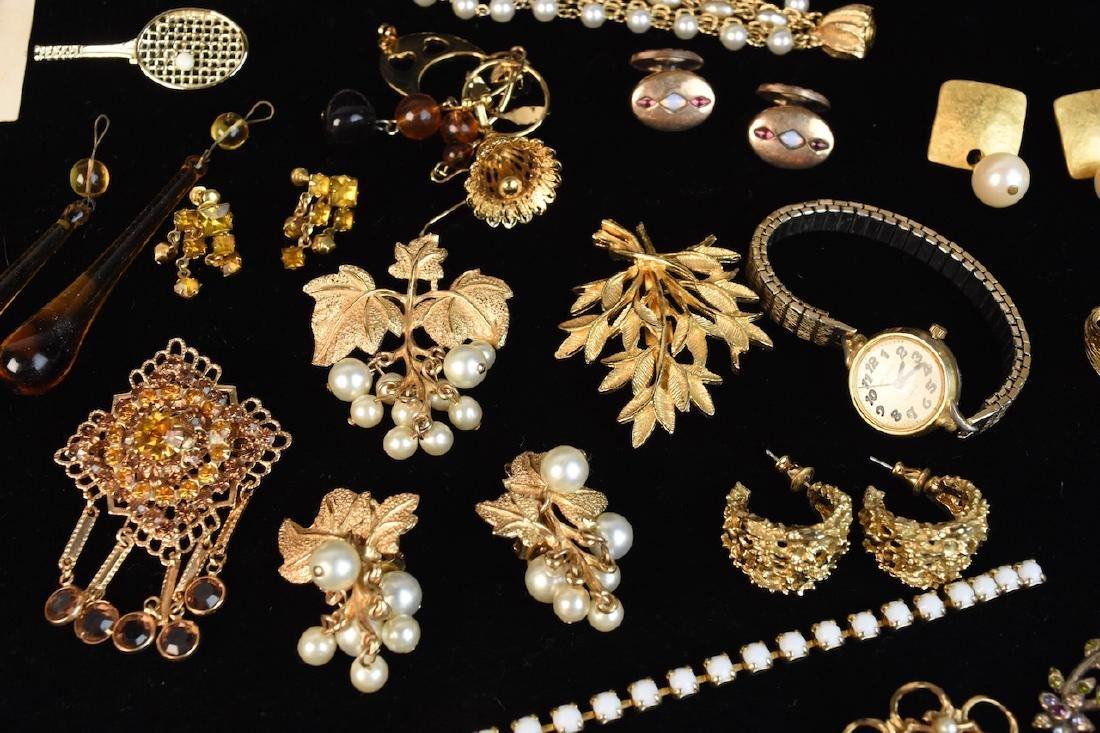 Costume Jewelry; Monet, Sorrento, Bulova, Judy Lee + - 3