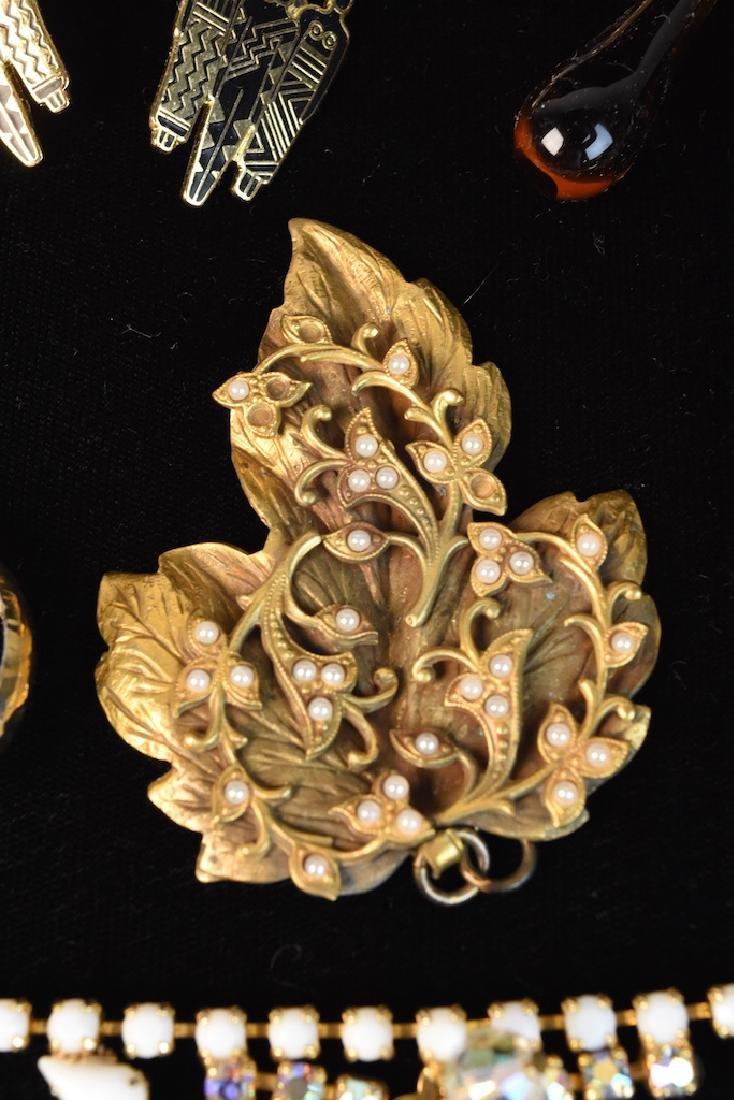 Costume Jewelry; Monet, Sorrento, Bulova, Judy Lee + - 4