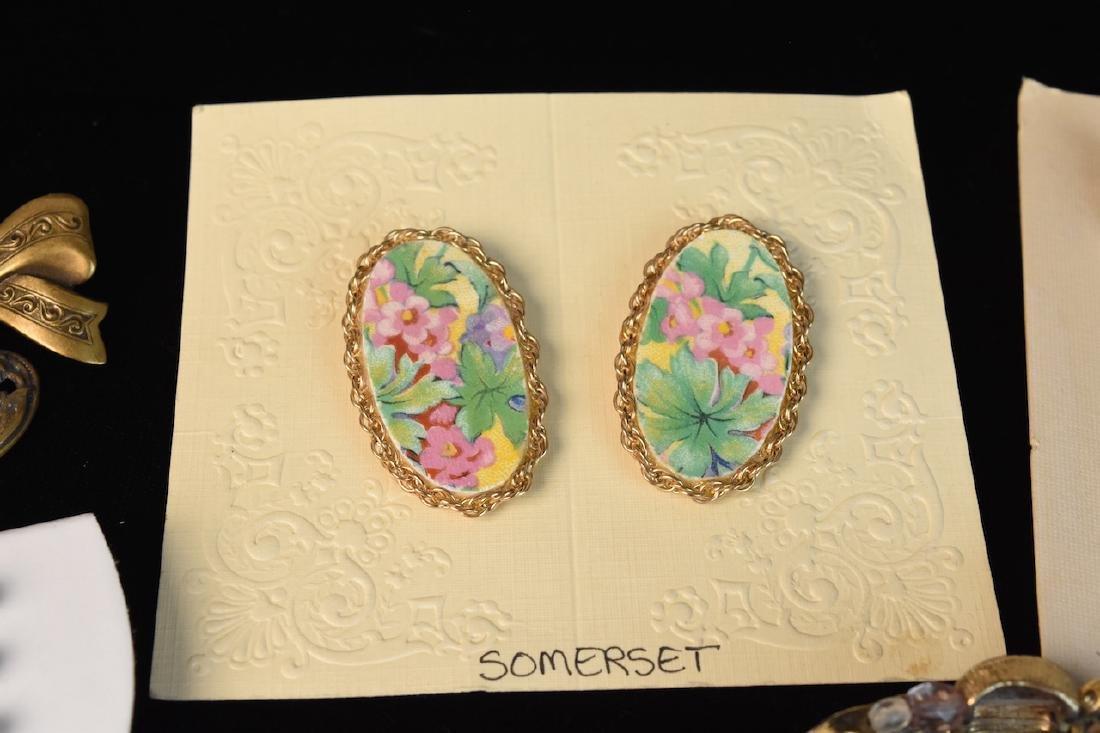 Costume Jewelry; Monet, Sorrento, Bulova, Judy Lee + - 5