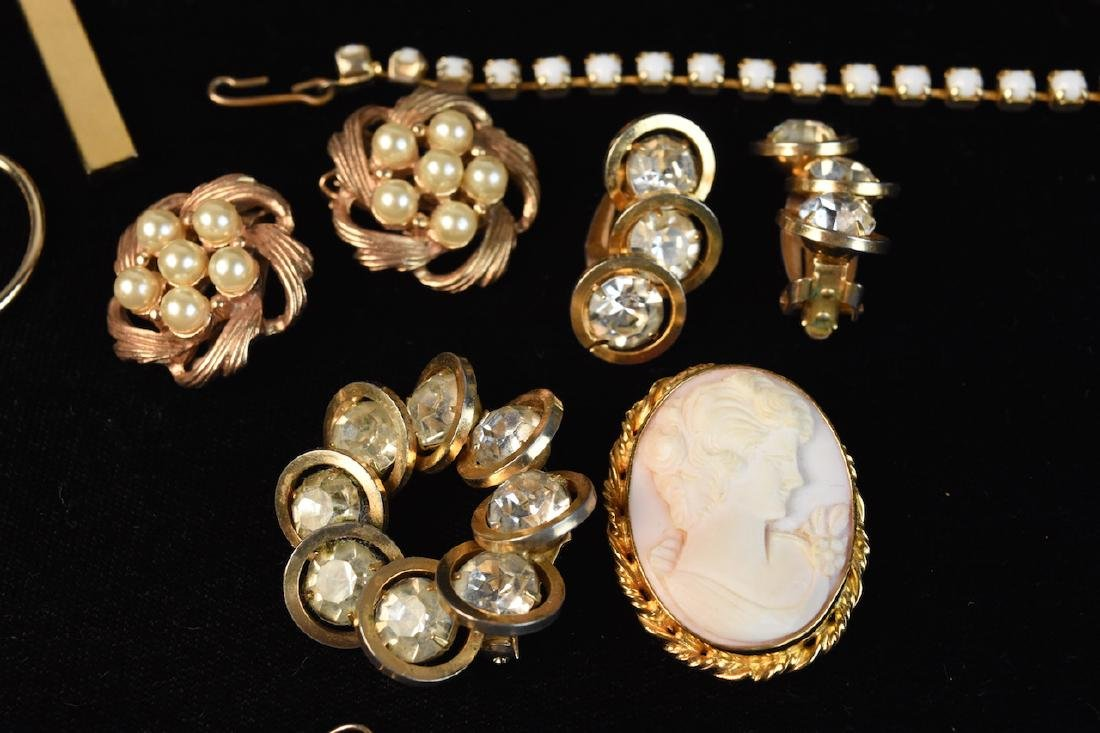 Costume Jewelry; Monet, Sorrento, Bulova, Judy Lee + - 6
