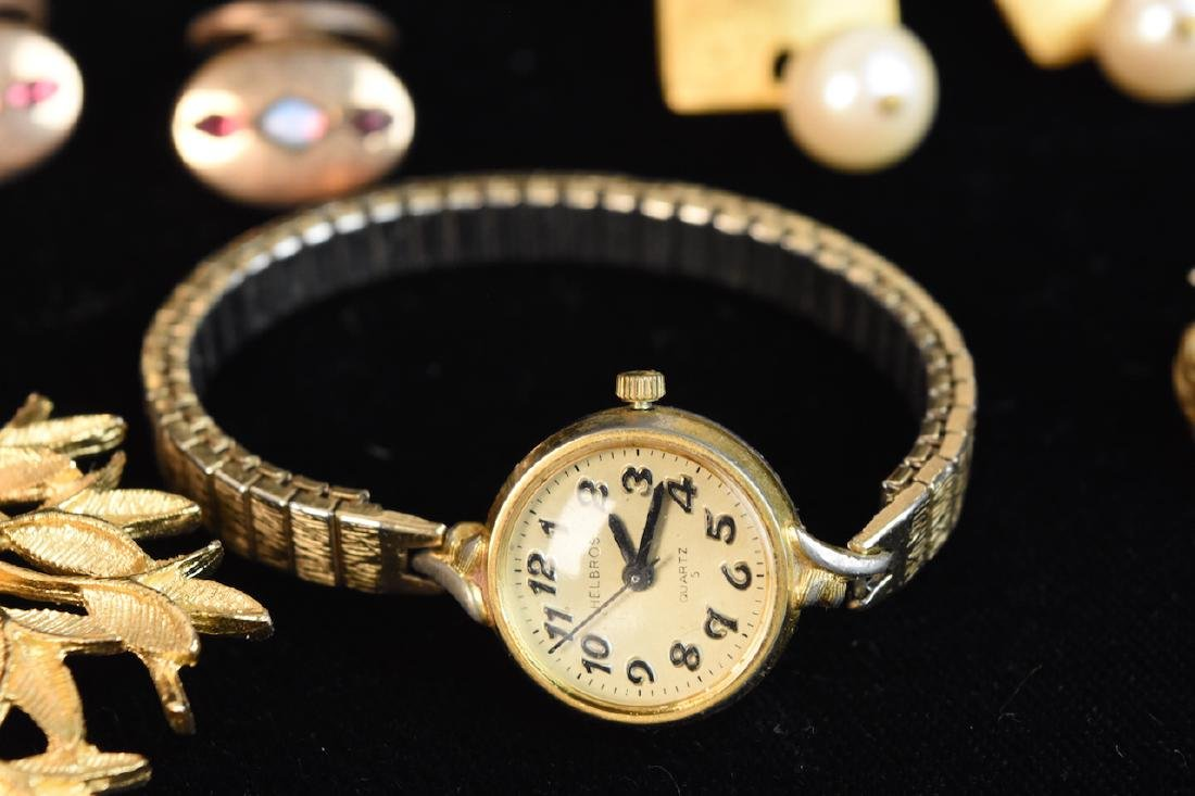 Costume Jewelry; Monet, Sorrento, Bulova, Judy Lee + - 7